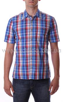 Рубашка с коротким рукавом в клетку Camel Active