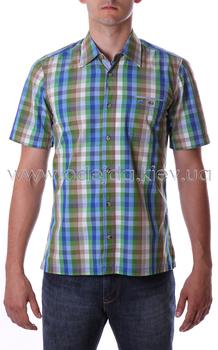Рубашка с коротким рукавом в яркую клетку Camel Active
