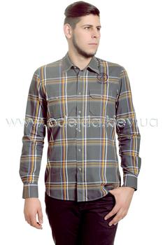 Рубашка с длинным рукавом в клетку Camel Active