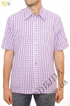 Рубашка с коротким рукавом в клетку Mountain Hardwear