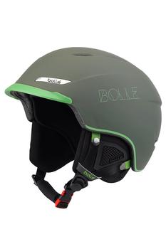 Шлем лыжно-сноубордический Bolle Beat Soft Khaki & Green