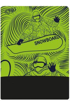 Баф лыжно-сноубордический 4FUN AW Polartec Green Board