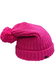 Шапка OGSO Pom Pom Beanie 35 cm pink