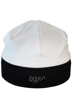 Шапка OGSO Technical Beanie white & black