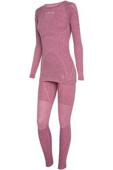 Комплект термобелья Viking Prima Pro Primaloft женский розовый