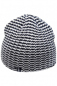 фото Шапка OGSO Beanie black & white - BEUBL04CA1601ST BEUBL04CA1601ST