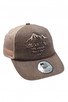 фото Кепка OGSO BROWN TRUCKER HAT HAMBR07CA1602NT