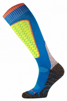 фото Носки горнолыжные Comodo SKI SOCKS PERFORMANCE BLUE-YELLOW SKI1-05