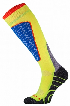 фото Носки горнолыжные Comodo SKI SOCKS PERFORMANCE YELLOW-BLUE SKI1-04
